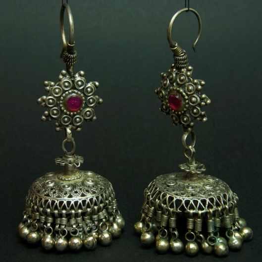 Afghan Glass Earrings
