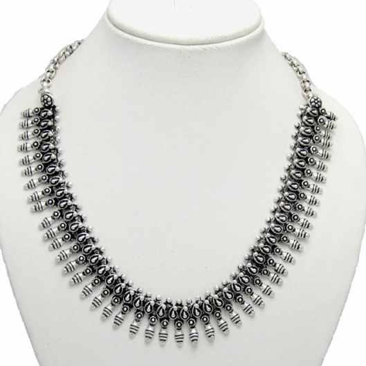 Antique German Silver Necklace