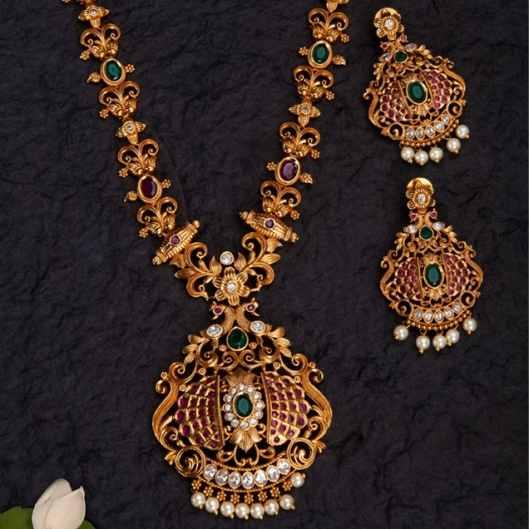 Oxidised Gold Jewellery